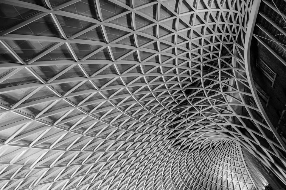 Architectural - King's Cross Station, London