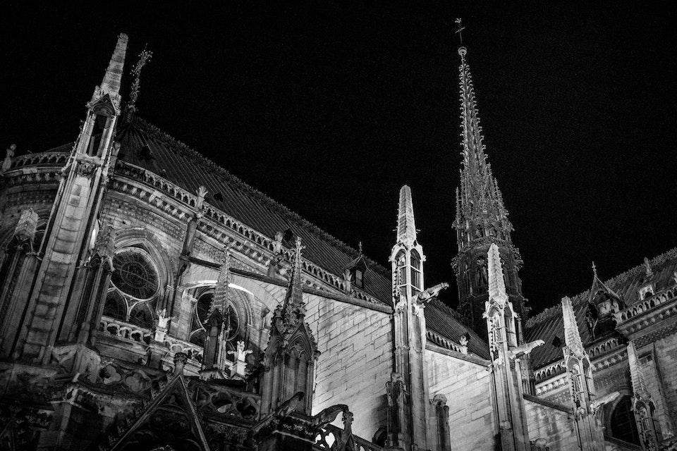 Architectural - Notre.Dame, Paris, France
