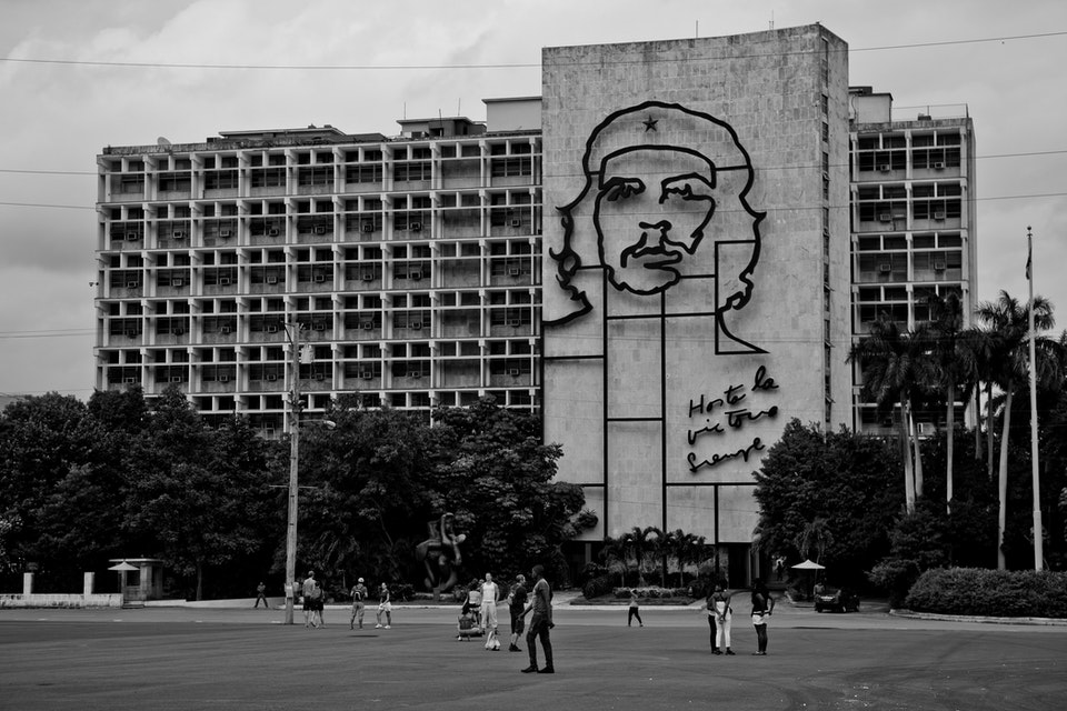 Architectural - Ministry of the Interior building, Havana, Cuba