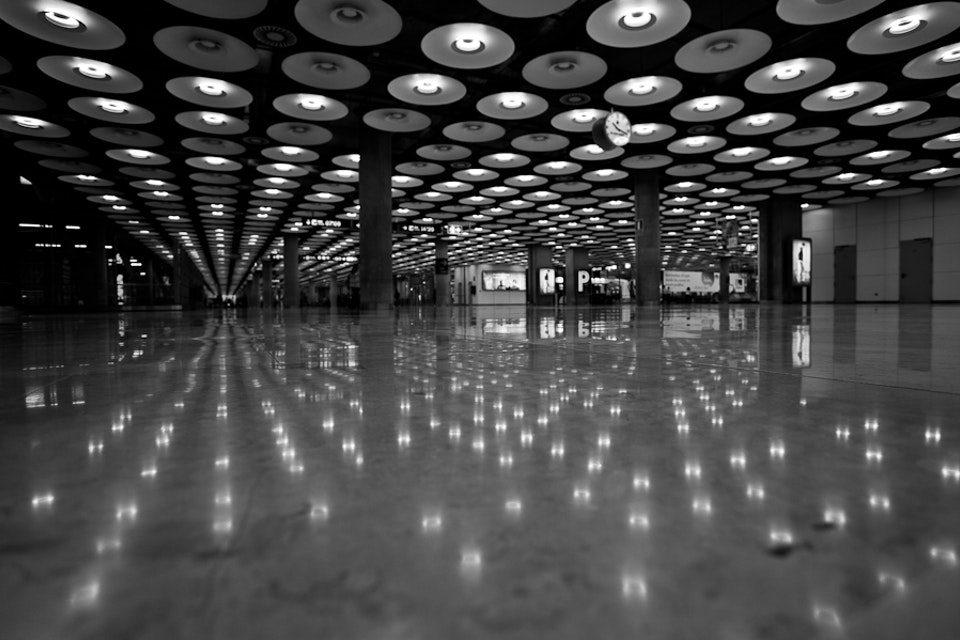 Architectural - Madrid Airport, Spain