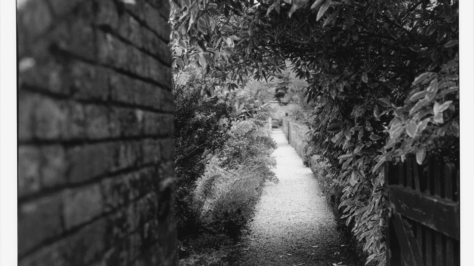 Home of Springs, Trengwainton walled garden corridor