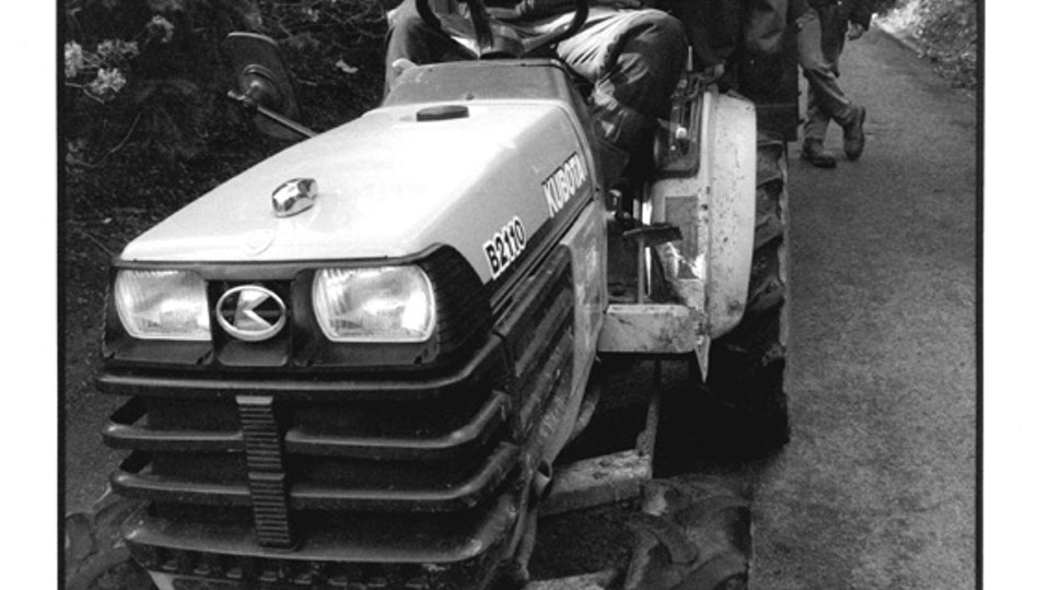 Home of Springs, Trengwainton Matt, Ian and tractor