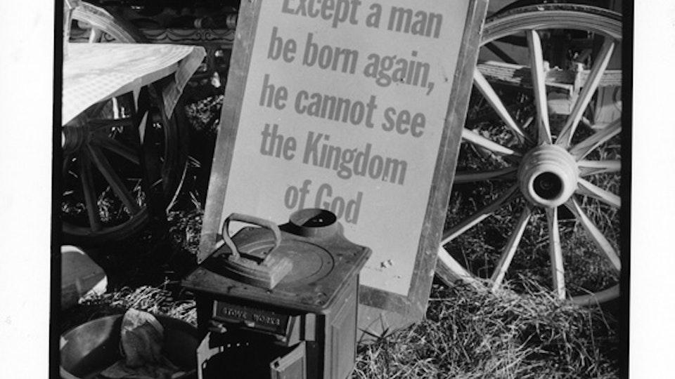 Stow Fair sign