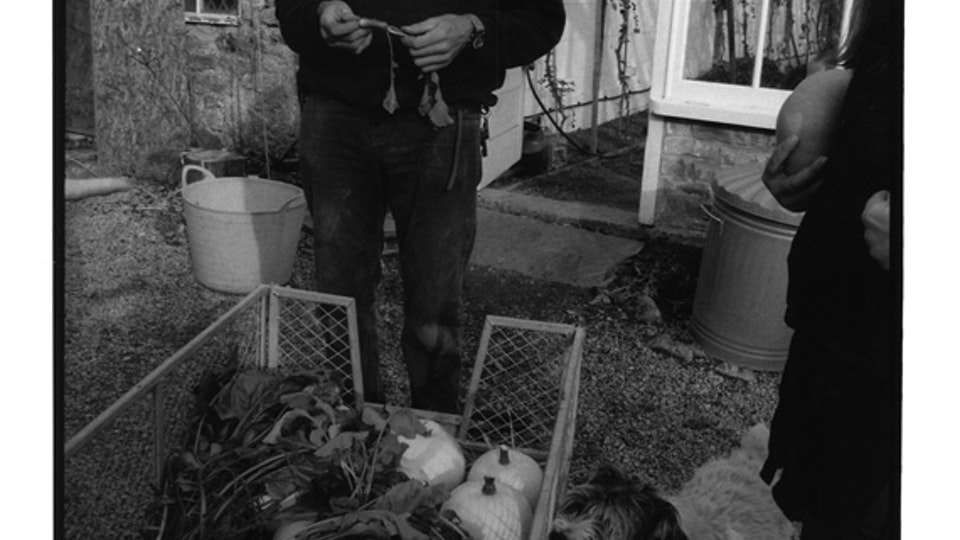 Home of Springs, Trengwainton Ian and his dog Baz