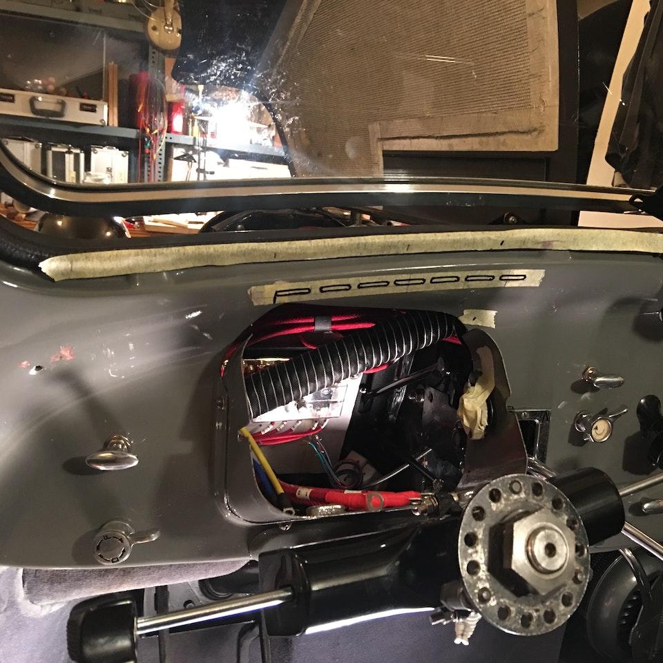 Heater & Defrost Installation IMG_8809