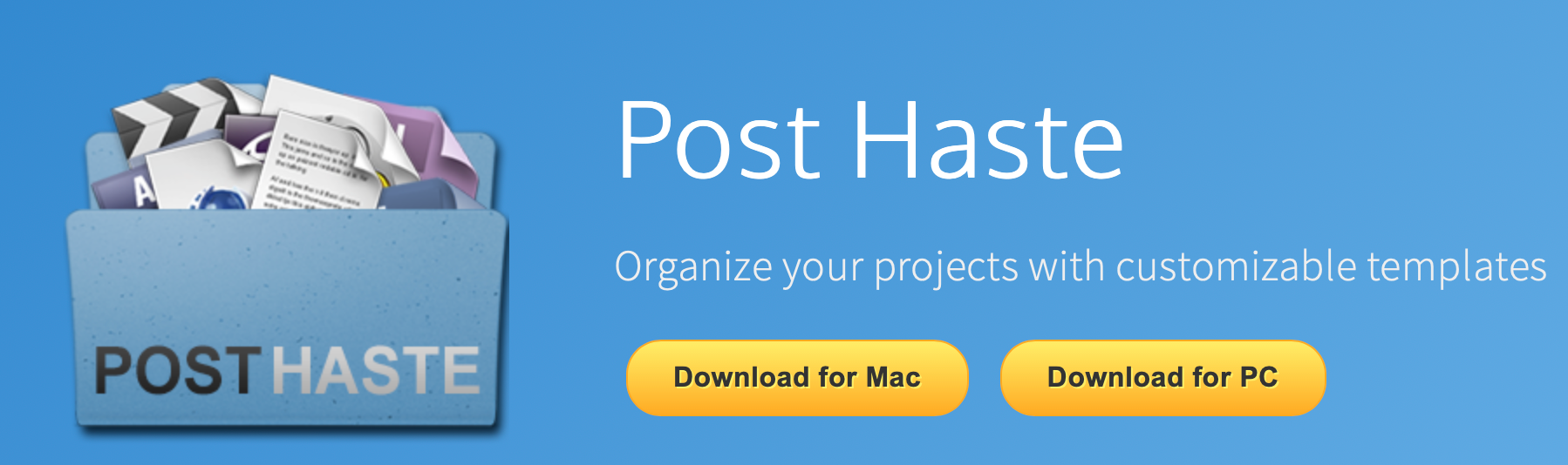 Post Haste free organizational software for AE