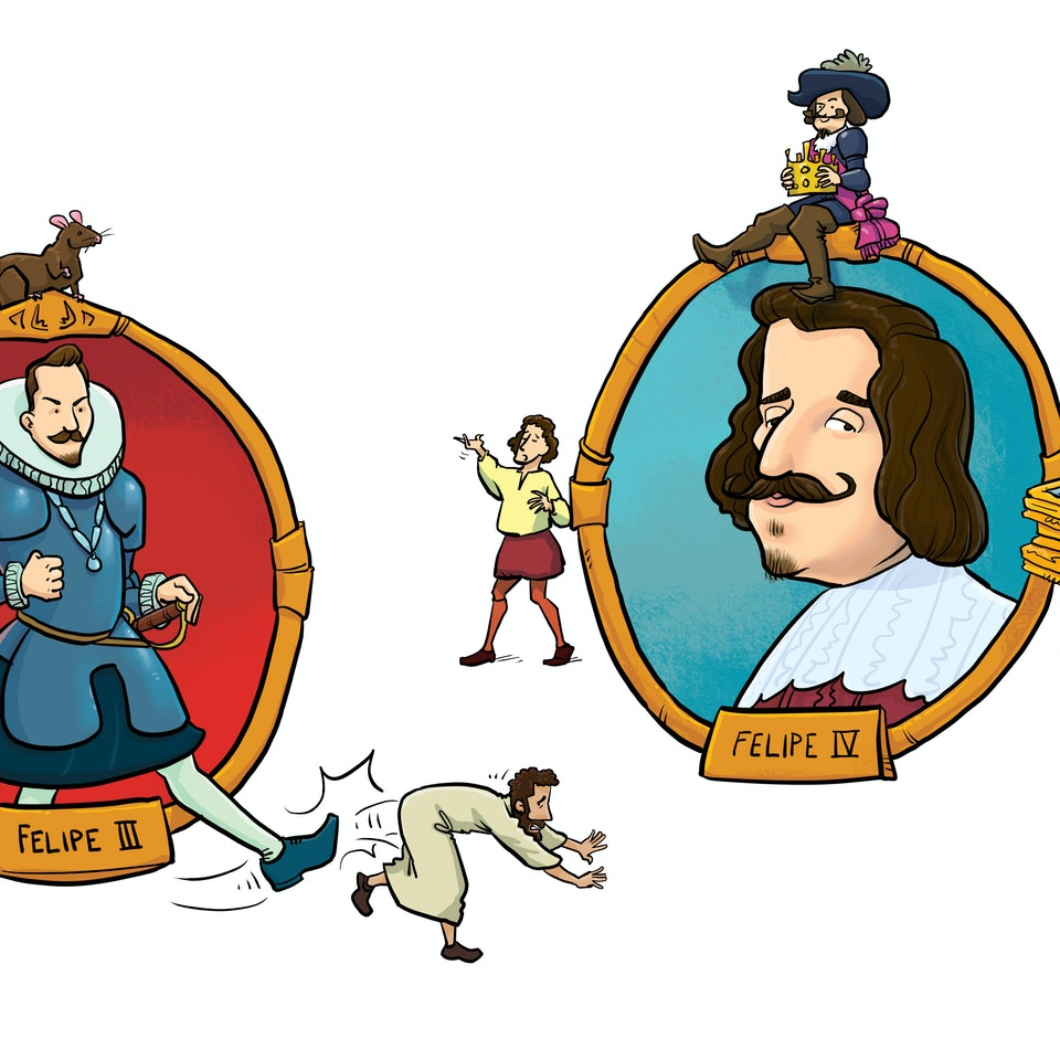 History & Science Illustration SpanishMonarchs