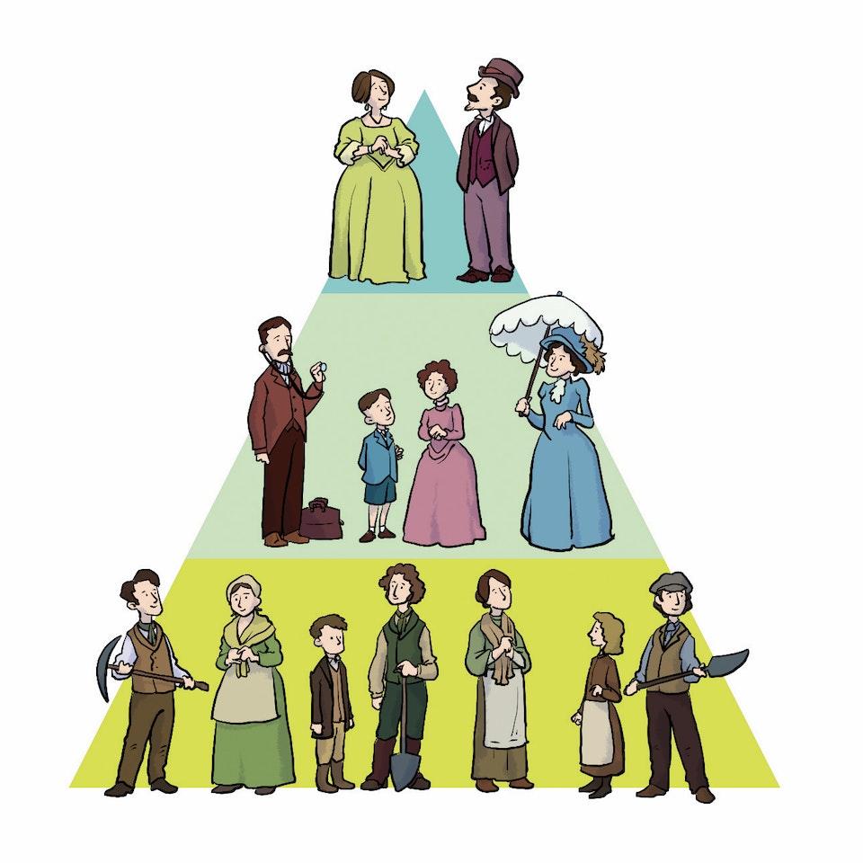 History & Science Illustration SocialHierarchy