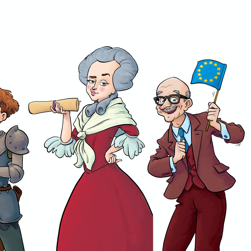 History & Science Illustration BONJOUR