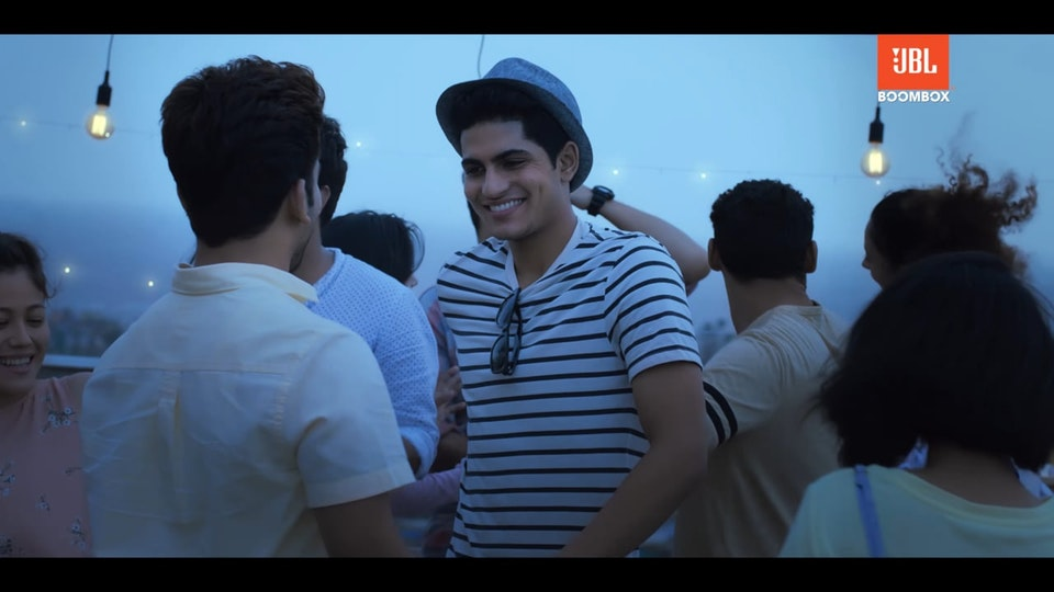 My Party with My JBL ft. Shubman Gill -