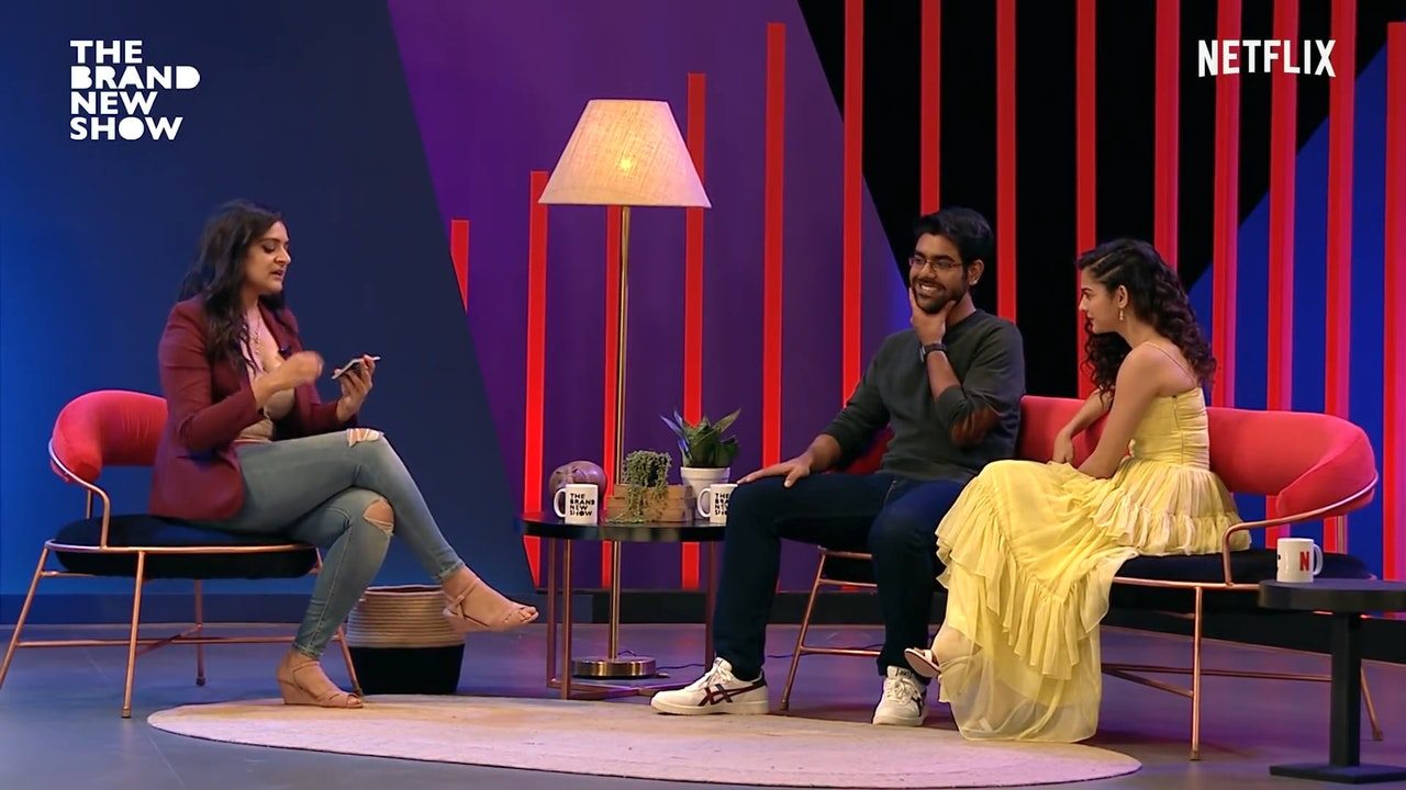 The Brand New Show with Kaneez Surka feat Dhruv Sehgal and Mithila Palkar in Netflix -