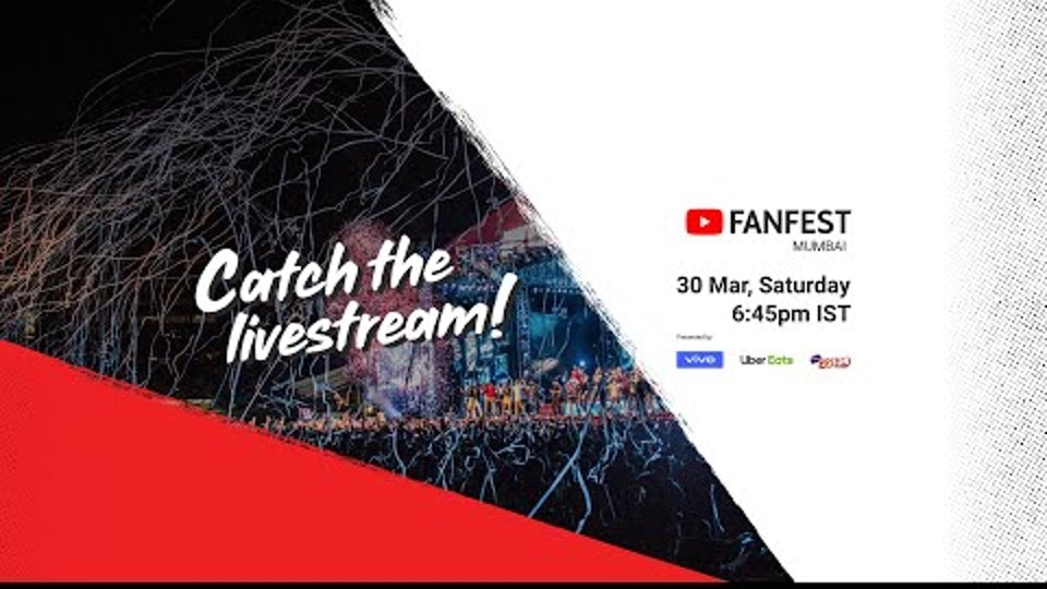 YouTube FanFest Mumbai 2019 - Livestream