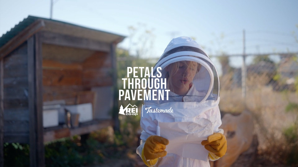REI - Petals Through Pavement
