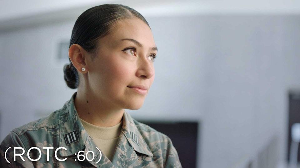 "U.S. Air Force ""ROTC"" + ""EOD"" - U.S. Air Force ROTC ANTHEM (:60)"