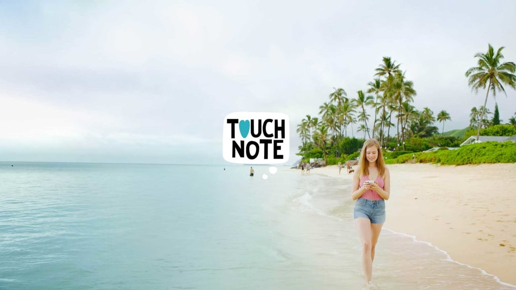 """TouchNote """"Adventure Together"""""""