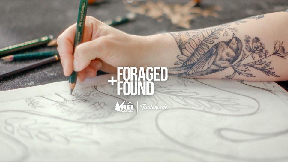 """REI """"Foraged + Found"""" [digital series]"""