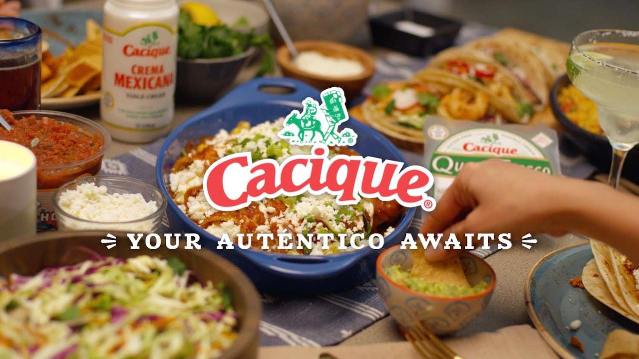 """Cacique """"Authentico Awaits"""" -"""