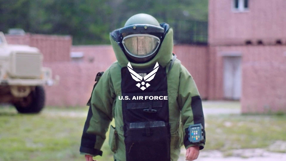 "U.S. Air Force ""ROTC"" + ""EOD"""