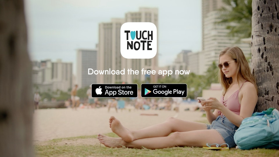 """TouchNote """"Adventure Together"""" + Testimonial Spots"""