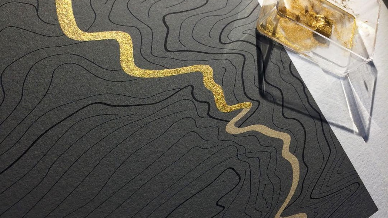 Gold process