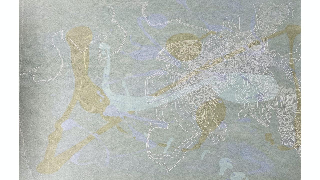 Scafell Pike movement (43cmx 35cm) £240