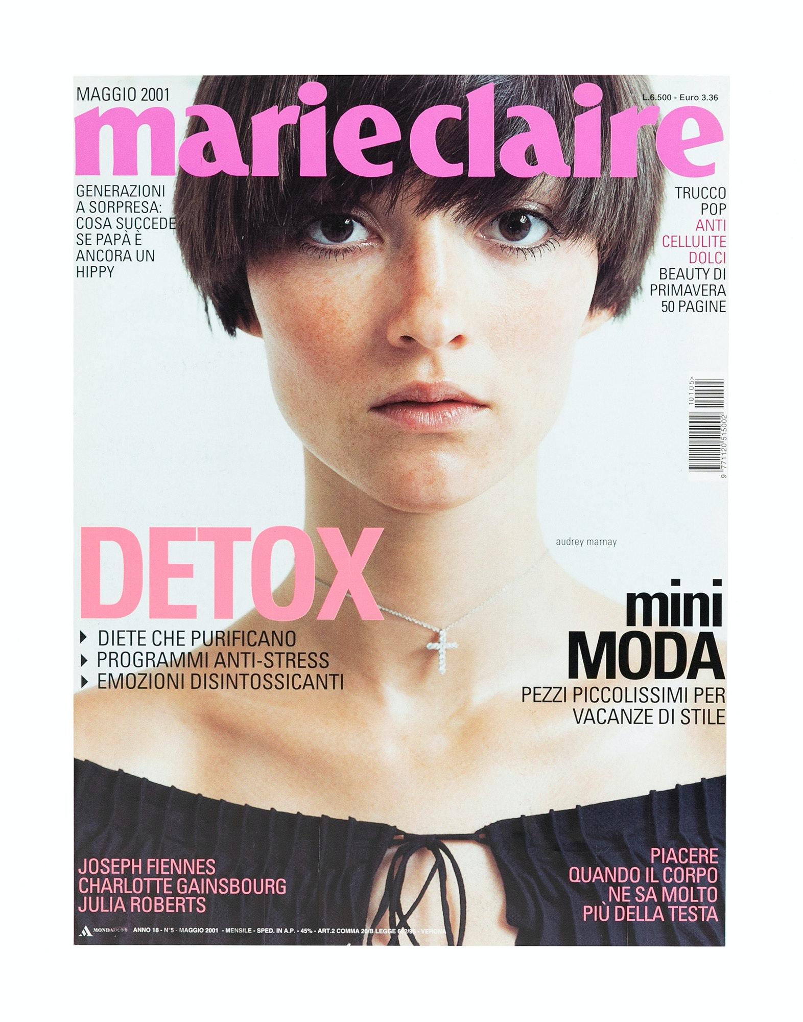 453044e364065 GRAPHIC DESIGN Marie Claire Magazine Art Director - Michael Loos