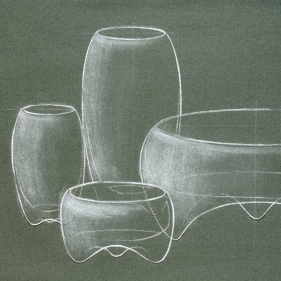Michael Loos - OBJECT DESIGN  Glassware