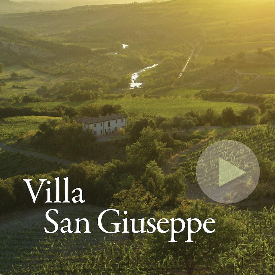 Michael Loos - FILM  Villa San Giuseppe, Montalcino