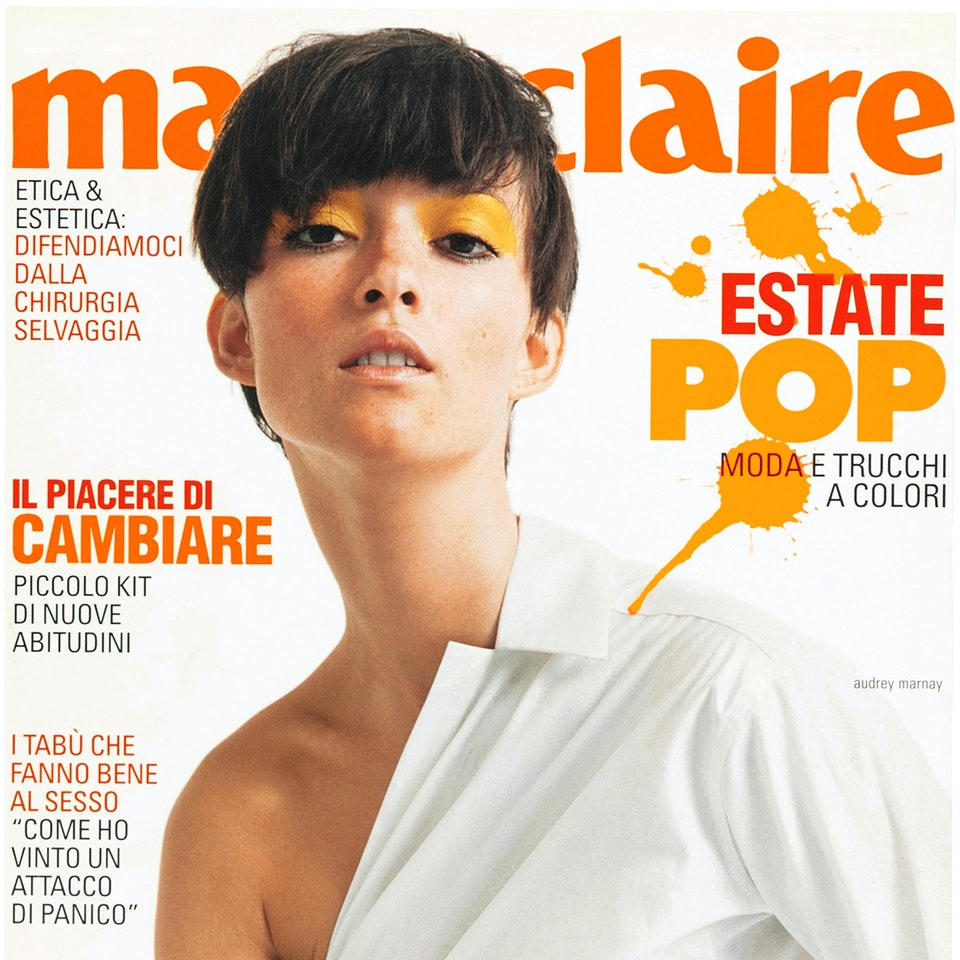 Michael Loos - GRAPHIC DESIGN  Marie Claire Magazine Art Director