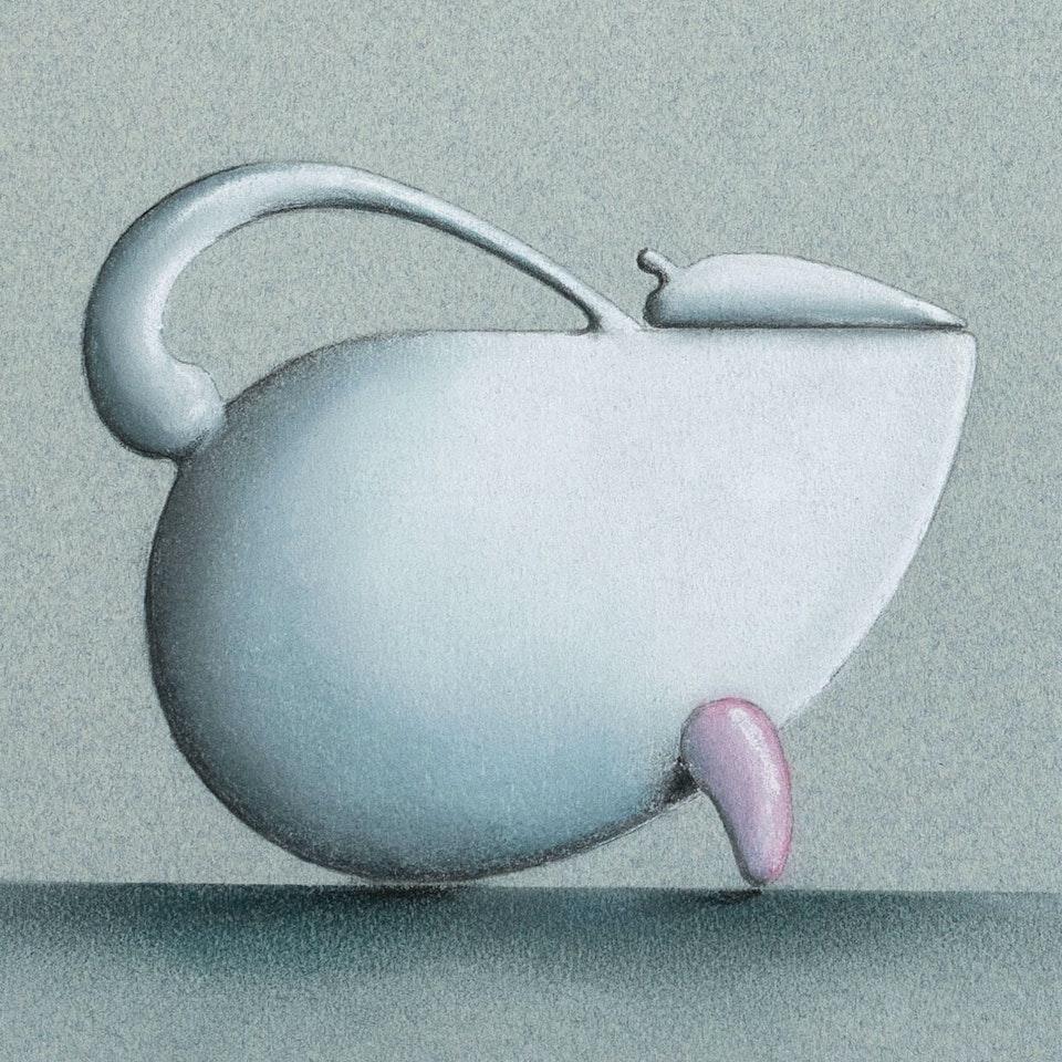 Michael Loos - OBJECT DESIGN  Porcelain Tea/Coffee Set