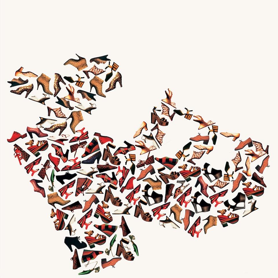 Michael Loos - GRAPHIC DESIGN   Posters, Ferragamo Museum