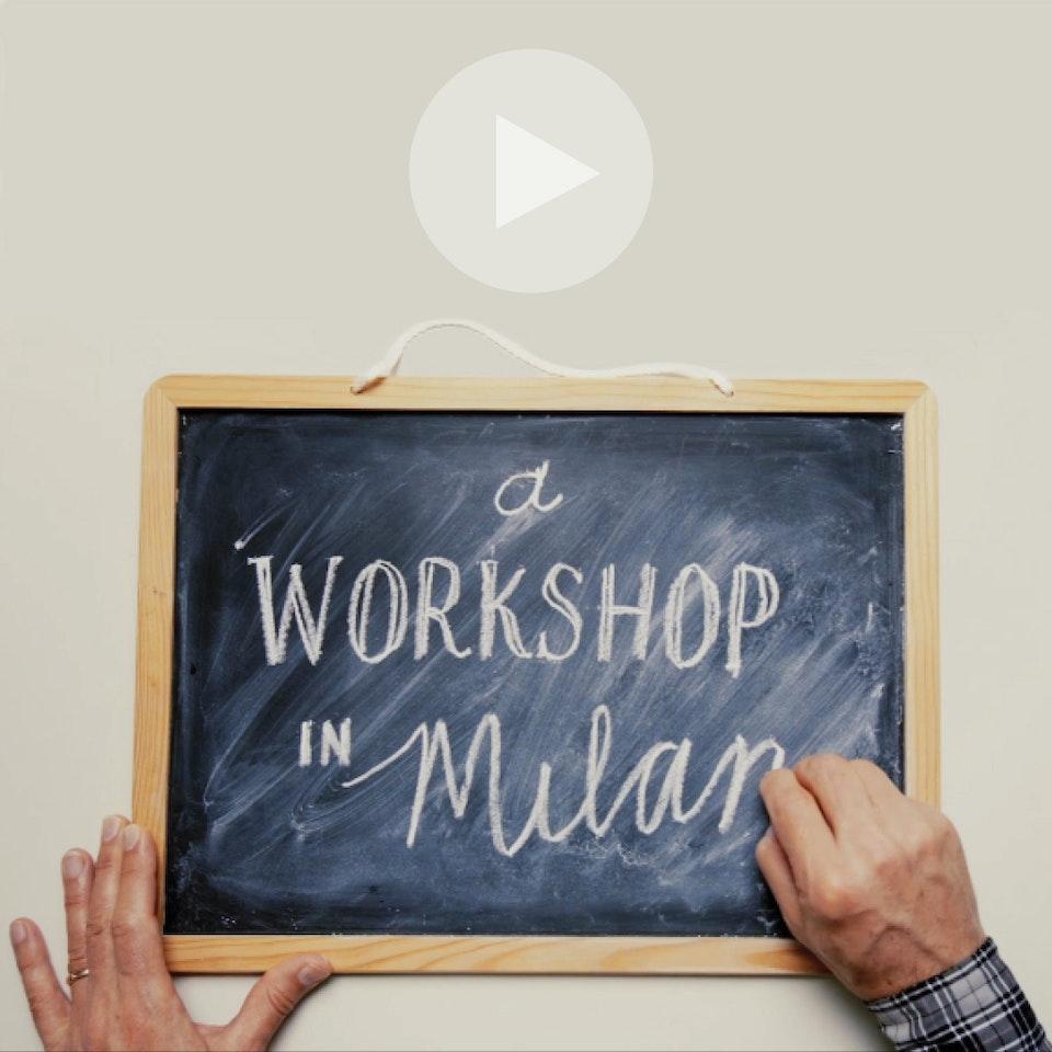 Michael Loos - Dorota's Design Workshop in Milan