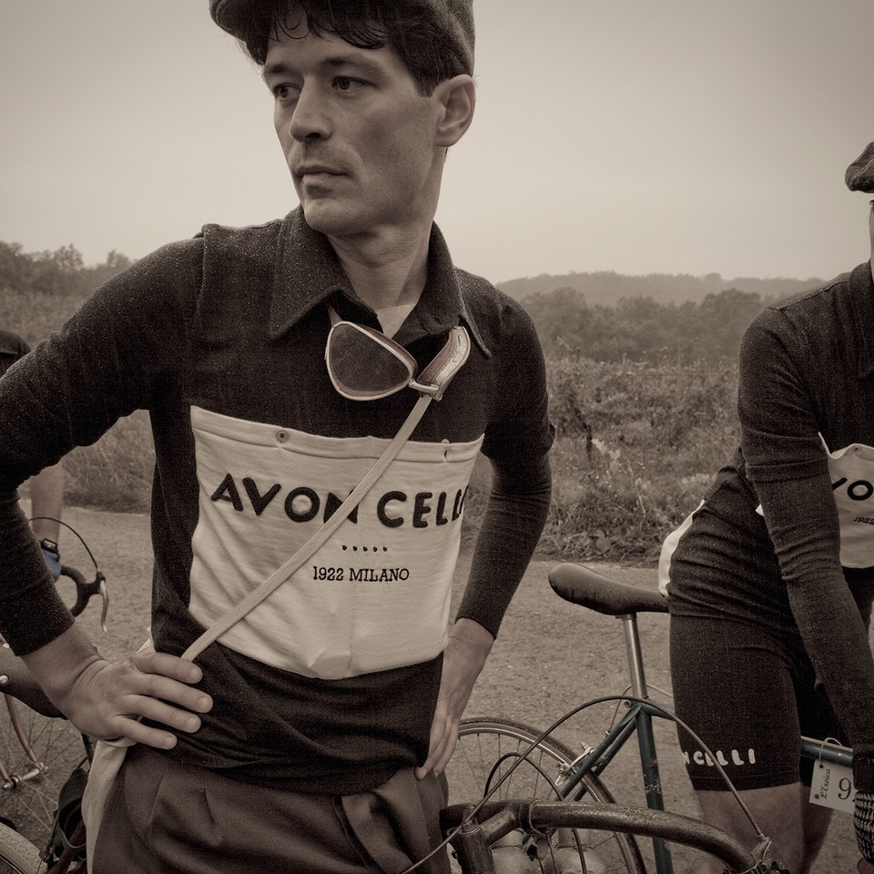 Michael Loos - Tuscan Vintage Cycling Race - Photo Story