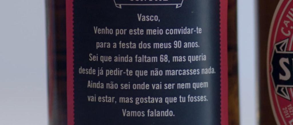 SUPERBOCK - CONVITE 90 ANOS