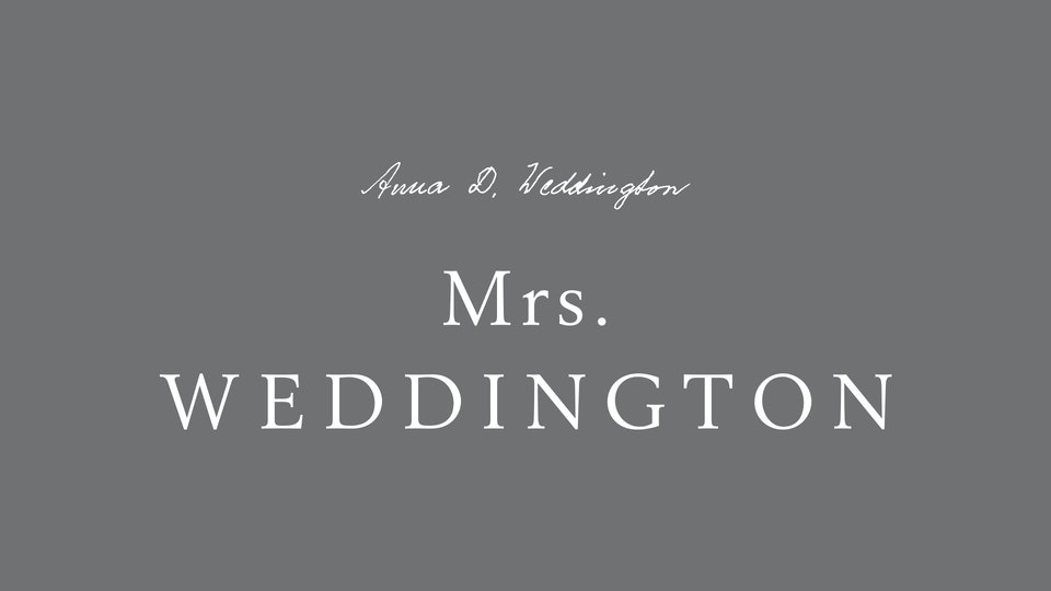 Mrs. Weddington