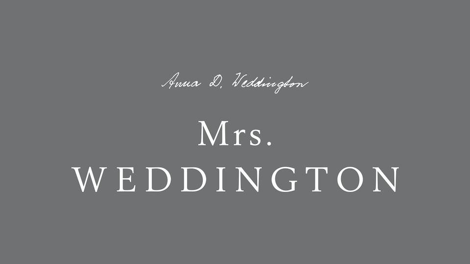 Mrs. Weddington