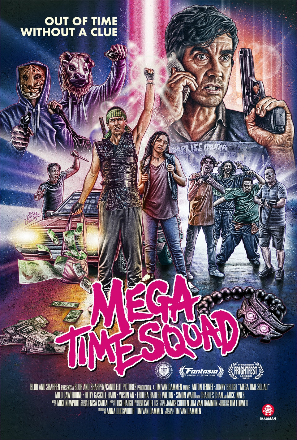 MEGA TIME SQUAD - Luke Haigh | Film Editor