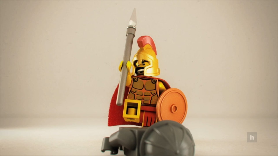"""Lego - This is Sparta! 3D """"Stop Motion"""" Pitch - Hornet Inc."""