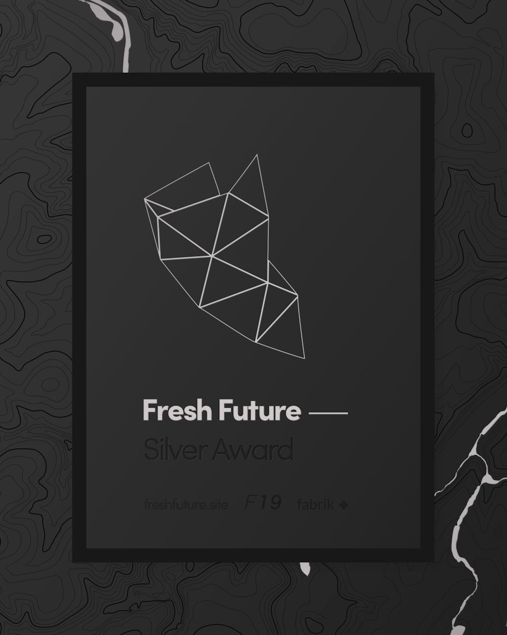 Fresh 19 Silver award