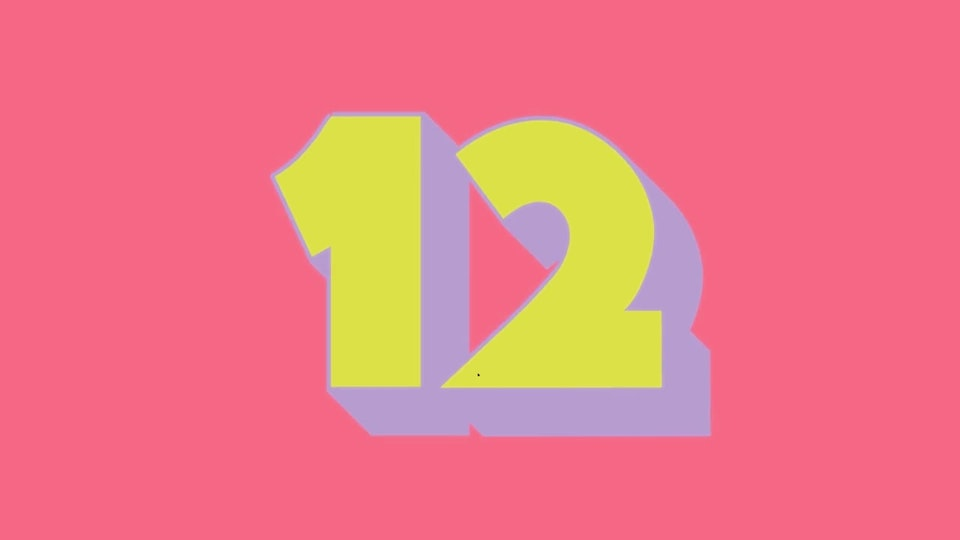 Twelve (animography monthly: april)