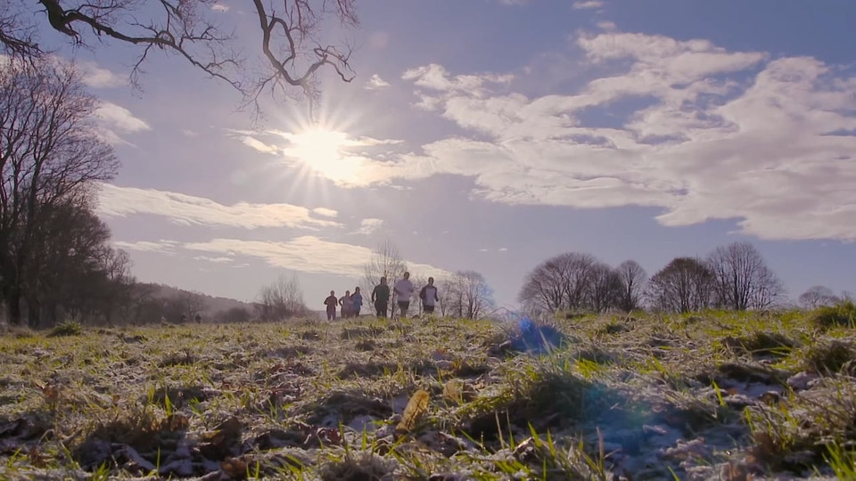 Jessica's parkrun heroes for Sky tv : John MacPhee  film