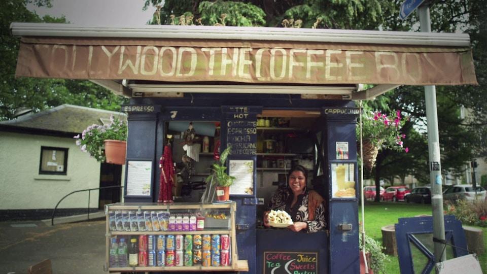 Edinburgh's On The Box - a short documentary film for STV