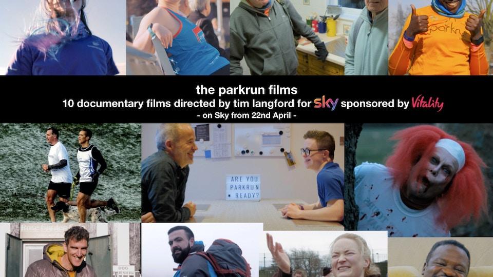 Jesscia's parkrun heroes for Sky TV