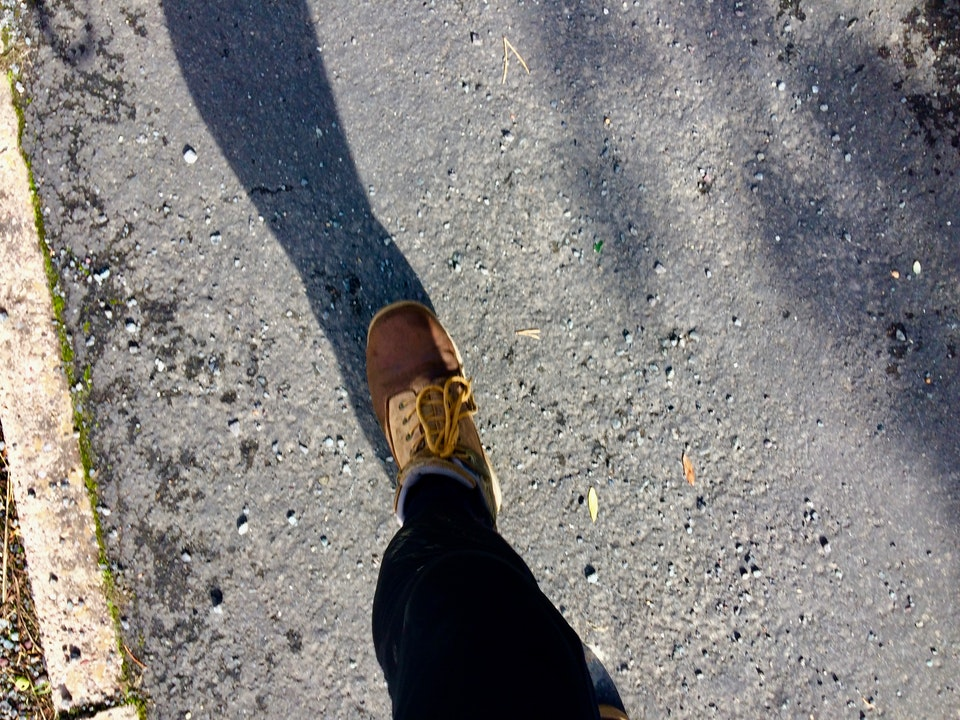 Best foot forward - Part 1; rambling posts about hiking...talking about walking.