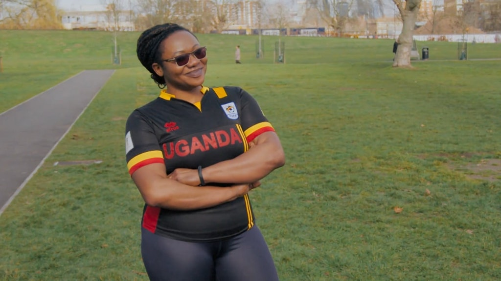 Jessica's parkrun heroes for Sky tv : Samuel & the Ugandan Crew film.