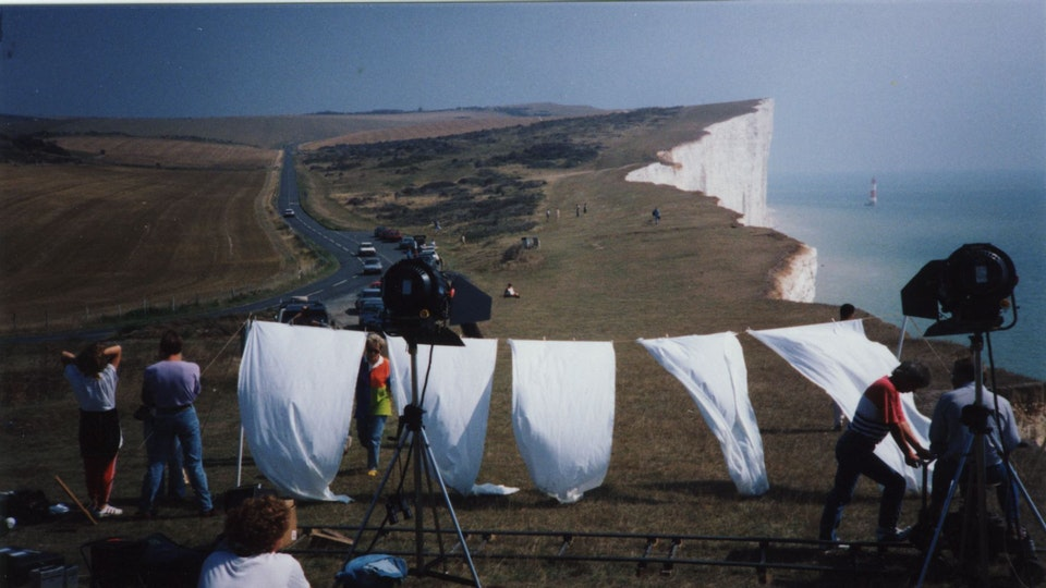 production + awards - First BBC broadcast directing job and I chose to shoot on Beachy Head. A suicidal career move?