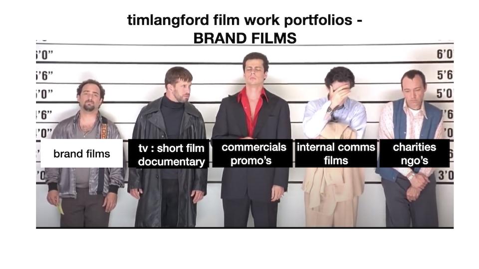Brand Film work