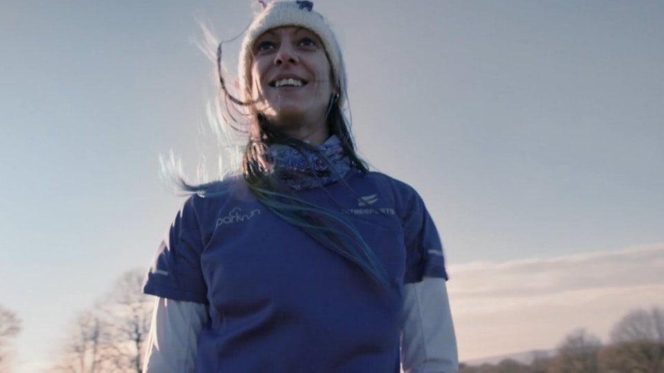 Jessica's parkrun heroes for Sky tv : Jo Eccles film