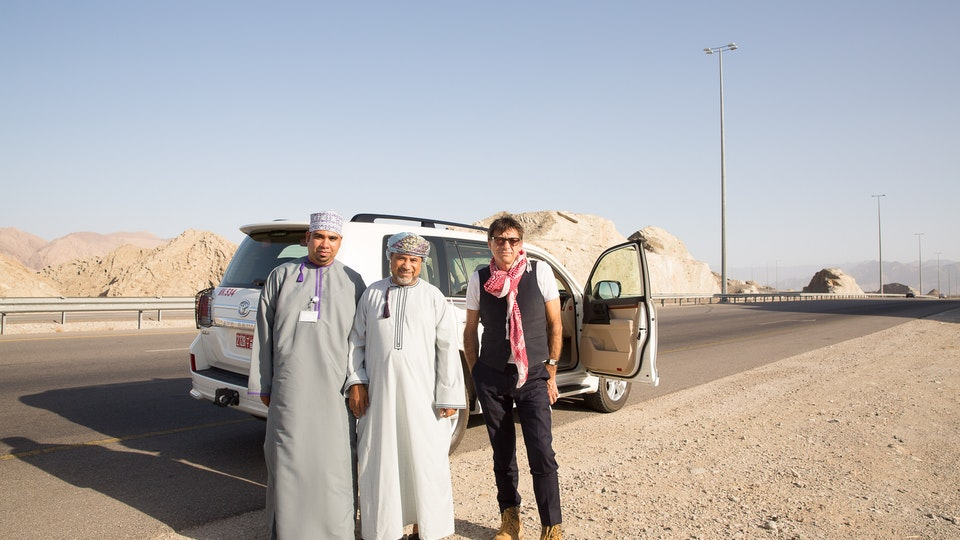 production + awards - Shooting in Oman for BP. A lovely shoot with lovely people.