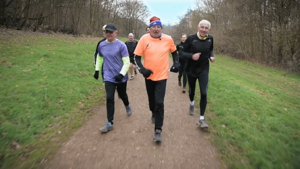Jessica's parkrun heroes for Sky tv : John Butcher film